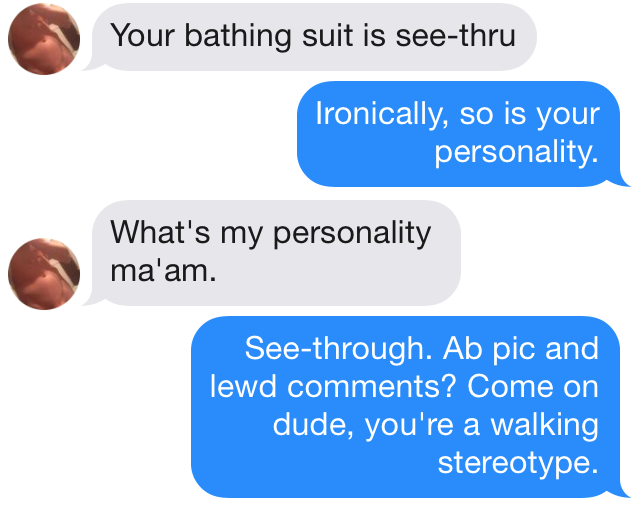 tinder submission 138 See through Personality