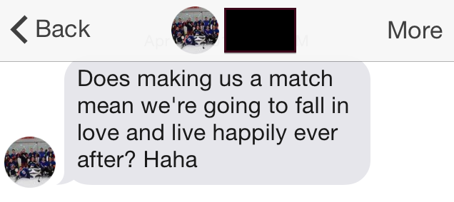 tinder submission 141 Happily ever after?