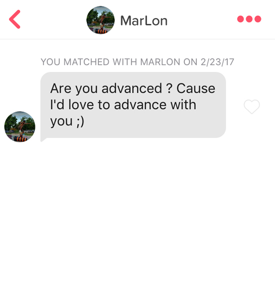 Are you advanced?
