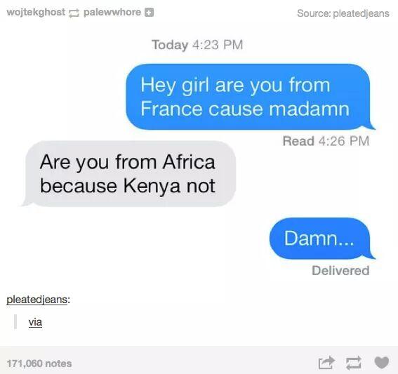 Damn madam